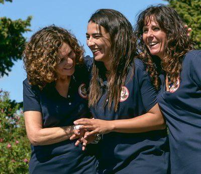 Promotoras de la Asociación Las historias de Sofía